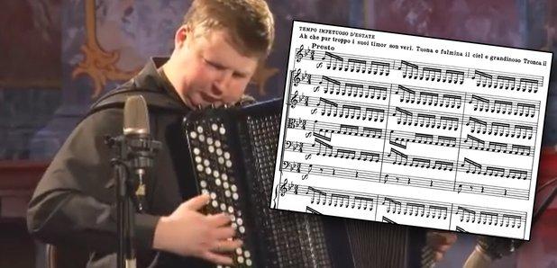 four seasons accordion