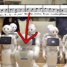 robot choir sing beethoven