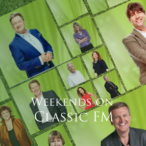 weekend presenters Classic FM