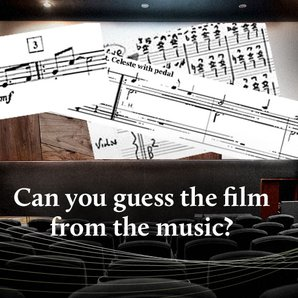 Guess the film from the score quiz