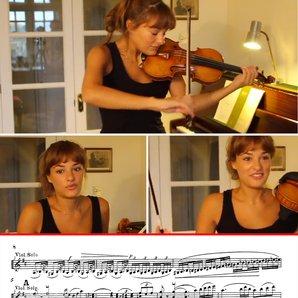 Benedetti Tchaikovsky masterclass