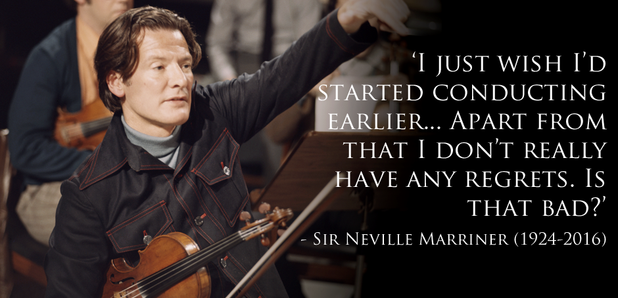 Sir Neville Marriner quote