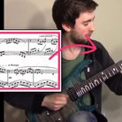 debussy arabesque on electric guitar