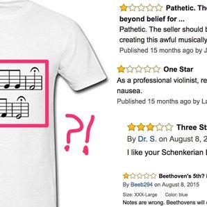 bad beethoven t-shirt